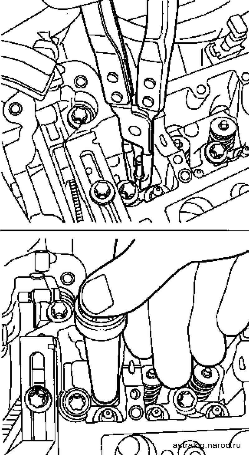 как поменять сальники клапанов опель астра 1,4